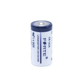 """Батарейка литиевая """"Forte"""", тип CR123A, 3.0В"""